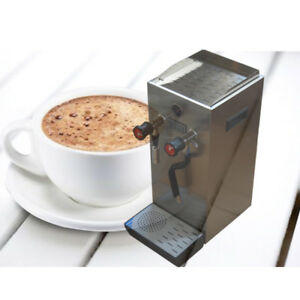 220v Stainless Steel Commercial Steam Boiling Water Frothing Machine Espresso