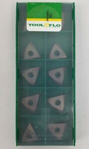 Tool flo Carbide Inserts Tnma 43t 145c Ac50c Made In Usa Pack Of 10 Pieces