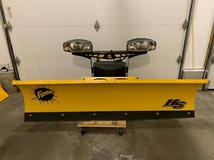 New Fisher 7 2 Hs Compact Snow Plow 85285 85240 3 72530
