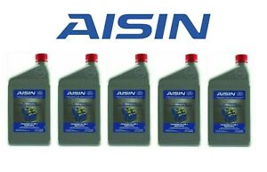 New Set Of 5 Atf Dw 1 Automatic Transmission Fluids Aisin For Honda Acura