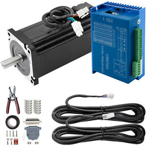 1712oz in Nema34 Closed Loop Stepper Motor 12nm Hybrid Servo Driver Kits