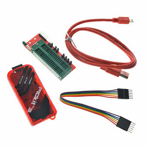 For Pickit3 Kit Programmer With Usb Cable Wires Pic Kit 3 And Icsp Socket