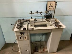 Loaded Levin Precision Instrument Lathe 3c 4 X 9 1 2 30k Of Tooling Milling