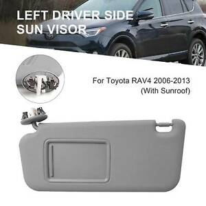 Driver Side Left Sun Visor With Sunroof For Toyota Rav4 06 13