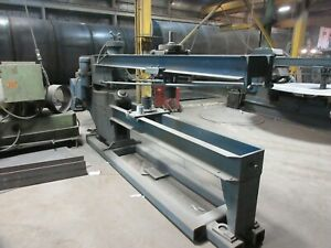 Blue Valley Circle Shear Ring Extended Throat 3 8 X 147 Capacity Rare Machine