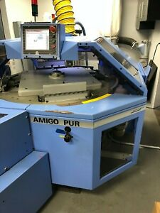 Muller Amigo 2010 Perfect Binder With Nordson Pur Glue 4 clamp