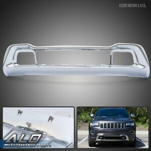 Chrome Front Bumper Grille Cover For 14 2015 Jeep Grand Cherokee 68143105ac