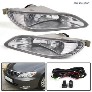 For 05 08 Toyota Corolla Clear Bumper Fog Lights Lamps Bulb W Switch Wiring L R