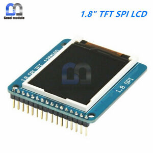 1 8 tft Spi St7735r 128x160 Lcd Display Module With Pcb Adapter For Arduino