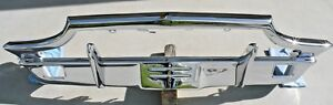 X Thunderbird Front New Triple Chrome Plated Bumper 64 65 1964 1965 Ford Oem
