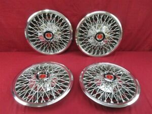 1977 1978 13 Wire Wheel Cover Ford Mustang Pinto Set Of 4