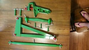 John Deere Model 800 800a 801 3 Point Hitch Cat 1 Horse Head And Accessories