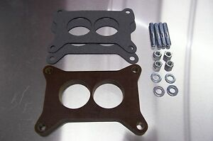 Fits 2300 Holley Carb Riser Phenolic Insulator Spacer Gm Ford Mustang 289 1 2 K