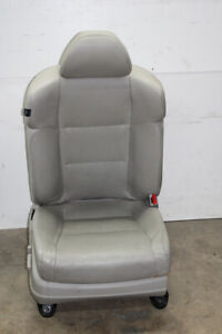 2010 Acura Tsx Passenger Front Seat Heated Taupe Gray