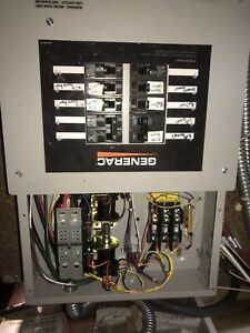 Generac 10 Circuit 100 Amp Transfer Switch Pre Wired
