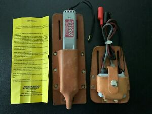 Progressive 200fp Filter Probe And 77hp Tracer With Leather Carring Pouches