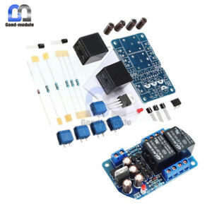 Stereo Audio Amplifier Speaker Protection Pcb Board Boot Delay Part Diy Kit