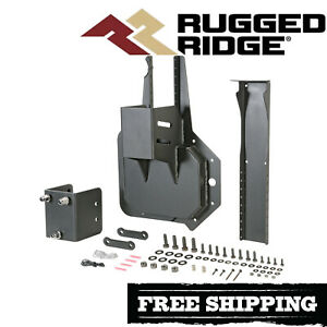 Rugged Ridge Heavyduty Tire Carrier Mount Kit 2007 2018 Jeep Wrangler Jk