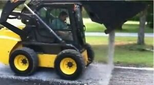 Skid Steer 96 Chipper Chipping Bucket Chip Seal Tar And Chip Sealcoat