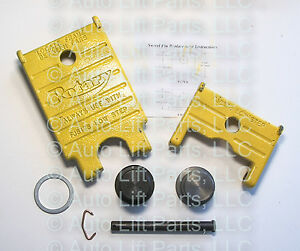 Rotary Lift In Ground Lift Replacement Pad Kit Fp46a Fp46h Dto28h Fj671 8yl