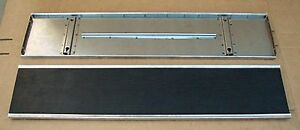 1928 1929 Model A Ford Car Running Boards Rubber Stainless Trim Coupe Sedan