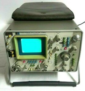 Hp 1744a 100mhz Dual channel Storage Oscilloscope Delayed sweep