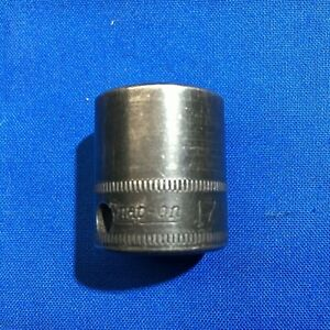 Old Logo Snap On Imfm17 17mm 3 8 Drive Shallow Impact Socket 6 Point