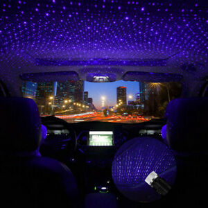 Car And Home Ceiling Projector Star Light Usb Night Romantic Atmosphere Light