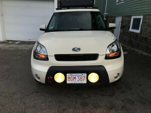 Auxiliary Bumper Driving Fog Lights Lamps Kit For Kia Soul all Years