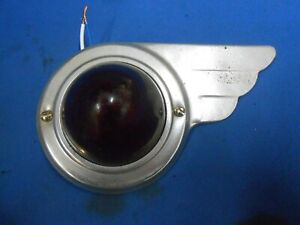 Vintage Do Ray Marker Clearance Light Airstream Camper Rat Rod Trailer Winged