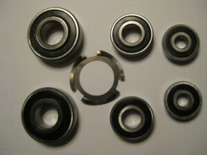 Full Set Of Bearings For Rebuilding Your Delta 14 Wood Band Saw
