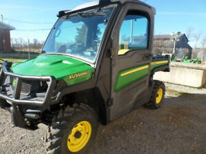 John Deere 835m Gator With Cab Heat And A c 2018 W 26 Hours Pwrdump