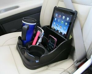 Car Cup Holder Organizer Universal Center Console Rv Truck Ipad Coffee Phone Pen