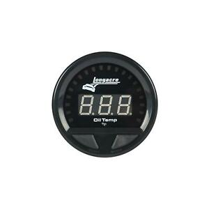 Longacre 52 46861 Digital Elite Waterproof Oil Temp Gauge