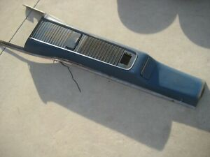 Original 1960 Ford T bird Thunderbird Console Ashtrays Speaker Lower Trim 58