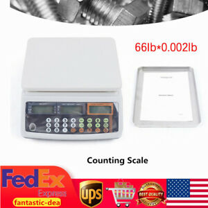 Digital Postal Shipping Scale Weigh Counting Scale 66lb 0 002lb Postage Kitchen