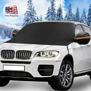 Protect Car Windshield Mirror Snow Cover Ice Frost Guard Winter Truck Sun Shade