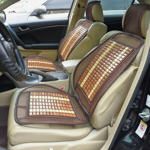 1pc Bamboo Seat Cover Cool Cushion For Auto Car Truck Office Chair Seat Cover