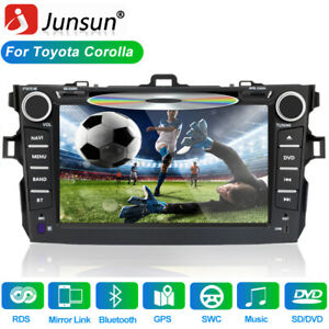 8 For Toyota Corolla 2007 2008 2009 2010 2011 Car Stereo Radio Cd Dvd 2 Din Us