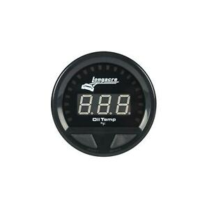 Longacre 52 46869 Digital Elite Waterproof Oil Temp Gauge
