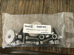 Buyers Plow Light Hardware Kit Stainless Steel Part 3008185