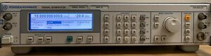Rohde Schwarz Smr20 Signal Generator 10 Mhz To 20 Ghz Calibrated