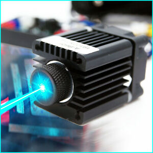 Focusable 488nm 60mw Cyan blue Laser Module 488nm Laser Diode ttl w 12v Adapter