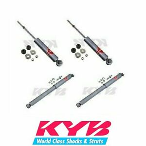 Kyb Gas a just 2 Front Struts 2 Rear Shocks Kit Fits Avanti Ii Buick Century