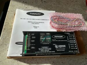 New Faraday Dc 100 Fire Slave Communicator dialer dact 1 Yr Prot Plan Incl