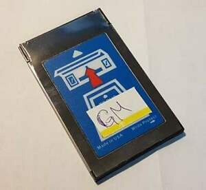 Used Gm Tech2 Tech 2 Software Memory Card 32mb W 33 004 Software 1991 2013