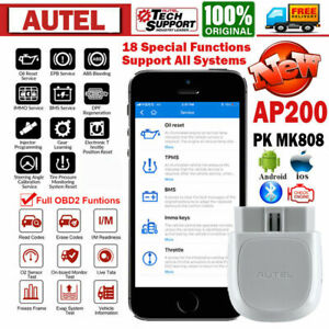 2020 Global Autel Ap200 Bluetooth Obd2 Diagnostic Scanner Epb Sas Dpf Oil Reset