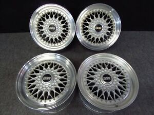 Genuine 16 17 Bbs Rs 306 307 Honda Nsx Special Production 3 Piece Wheels
