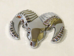 Dodge Ram Badge Emblem Decal Chrome New