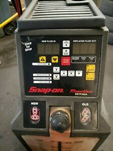 Snap On Eetf305a Transmission Fluid Flush Machine Like New Make Offer Need Gone